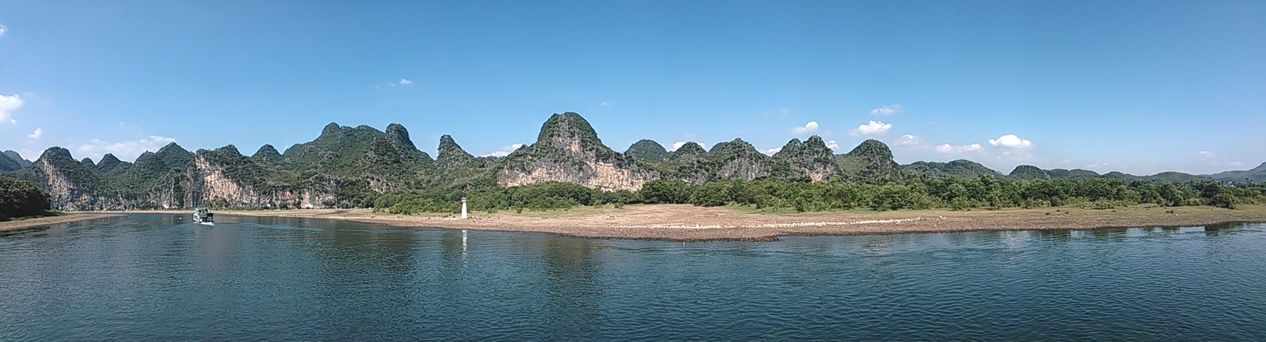 漓江风景(全景模式)