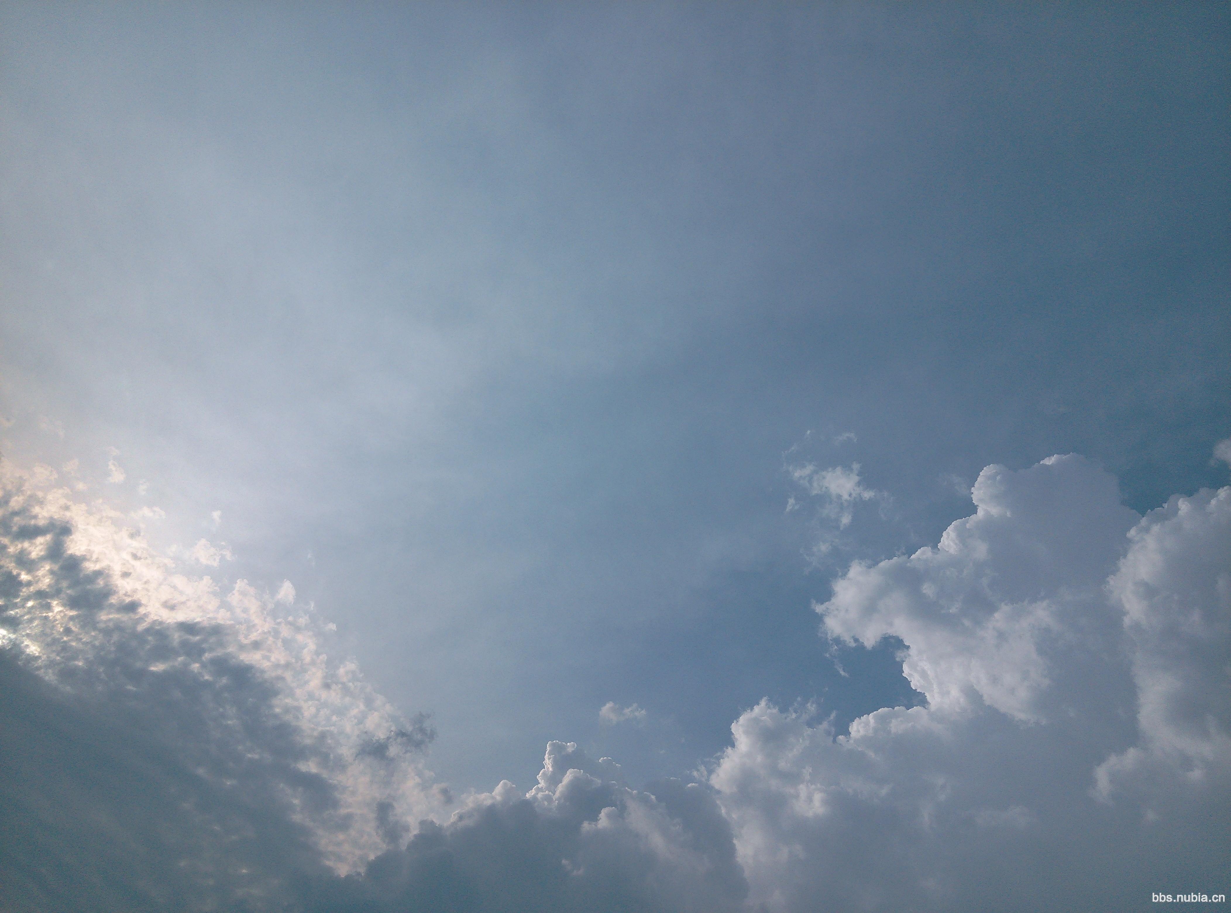 天空 云朵