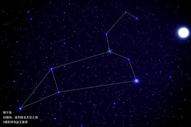 十二星座狮子座!(性格之镜版)o型血摩羯座的天空的女生图片