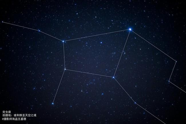 逐梦星辰大海,追星天空之镜#你见过现实星空中你的星座吗?