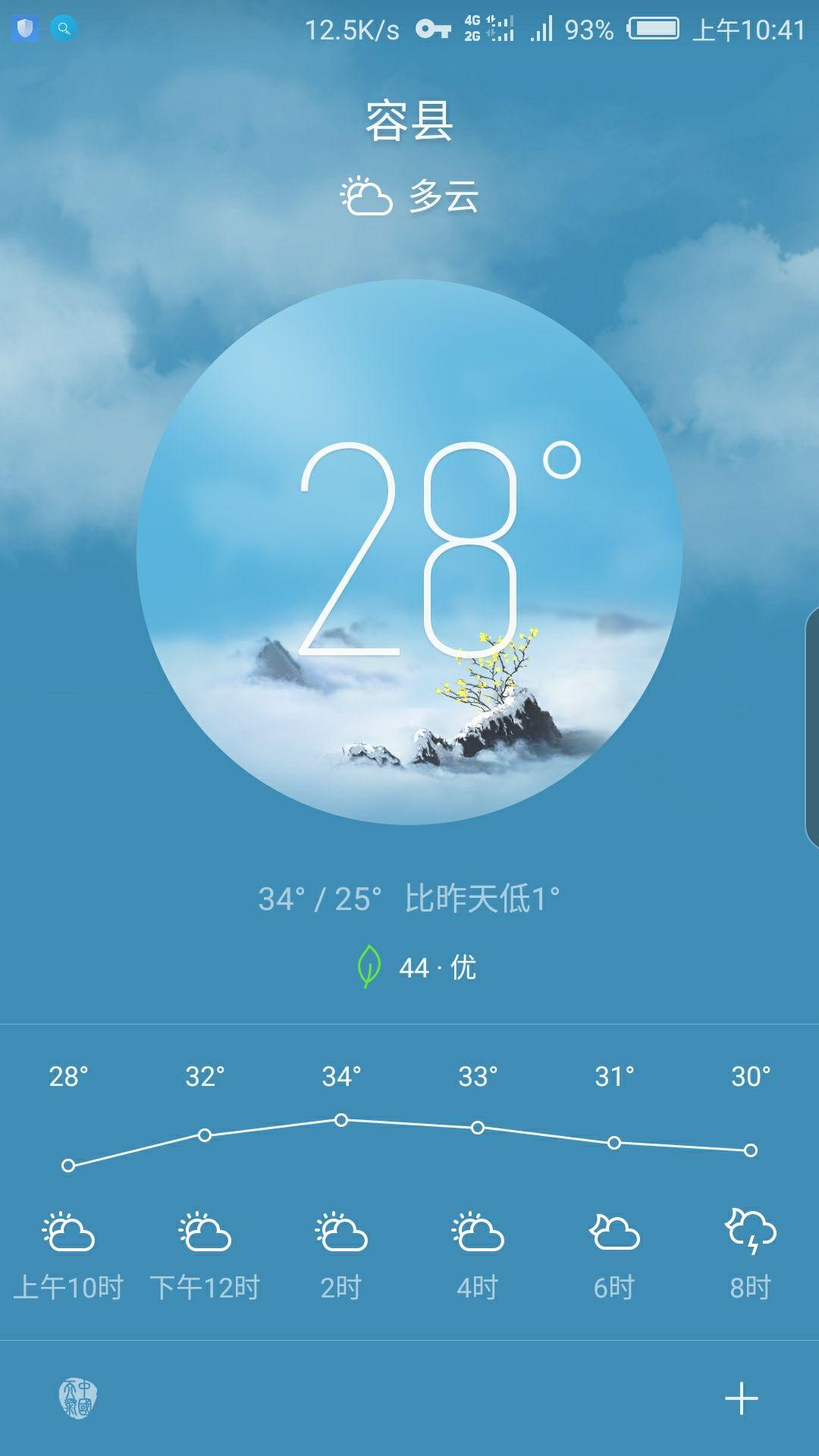 手机的天气一直是多云(图2)-无边框z17-牛仔俱乐部