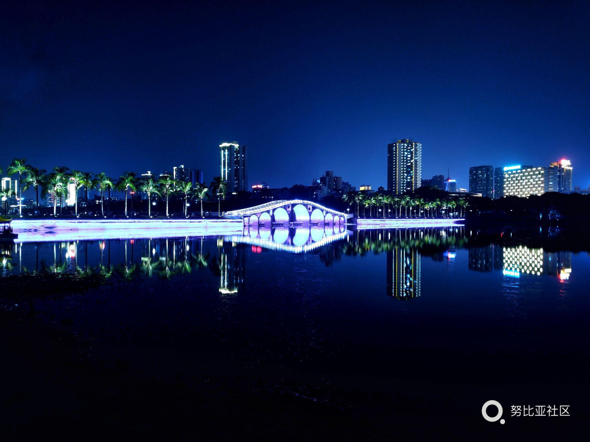 南宁夜景 努比亚z17拍