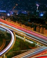 美丽的路,夜晚回家的路!