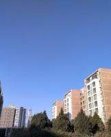 蓝蓝的天空
