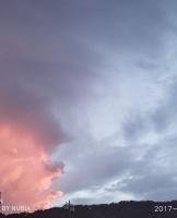 这火烧云也变换着,从狮子座到天狼星